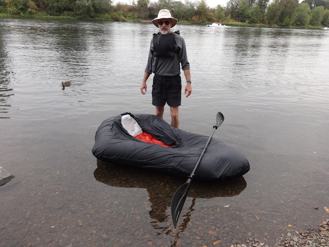how to inflate pack rafts