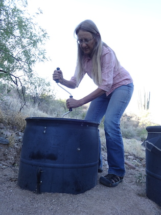 Barrel Composting Toilet System: Owners Manual