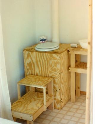 Barrel Composting Toilet. Composting Toilets